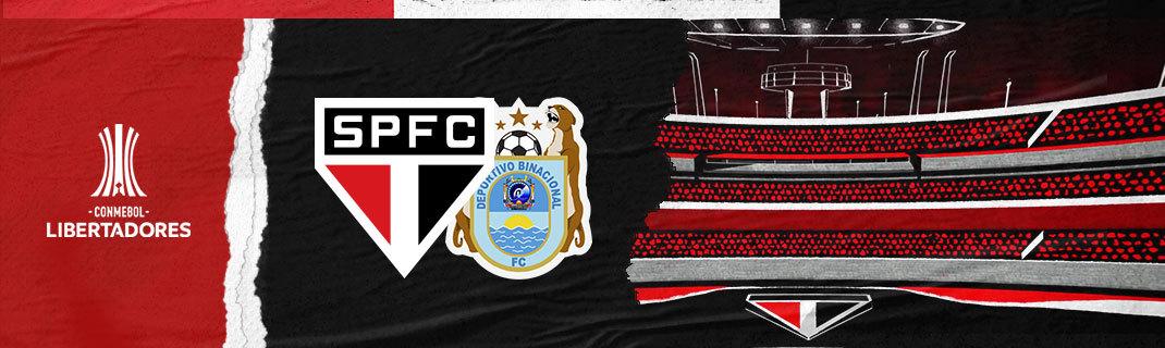 SPFC X BINACIONAL – Copa Libertadores da América